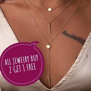 Jewelry - New Dainty Statement Necklace Choker Layered Cute